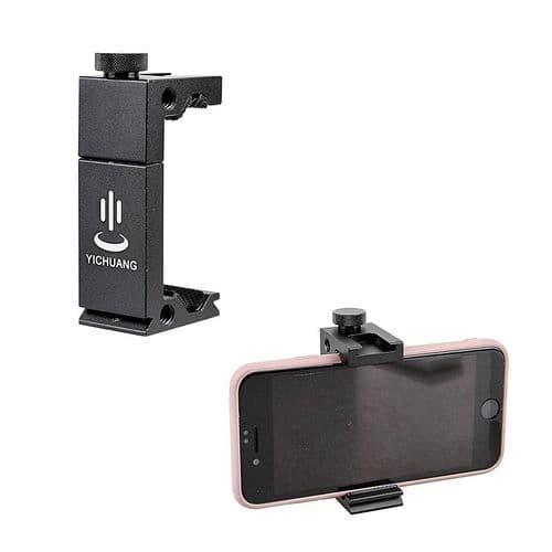 Support Pince Berceau Pour Smartphone En Aluminium Métal Pour Trépied Vis 1/4